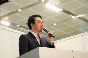 アドタイデイズ2017に登壇する 株式会社オムニバス代表 山本章悟